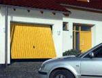 Автоматические гаражные подъемно-поворотные ворота